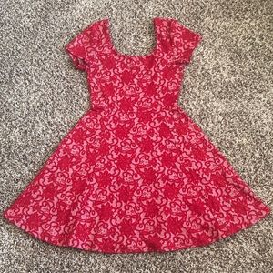 Say What? Fit n Flare Dress